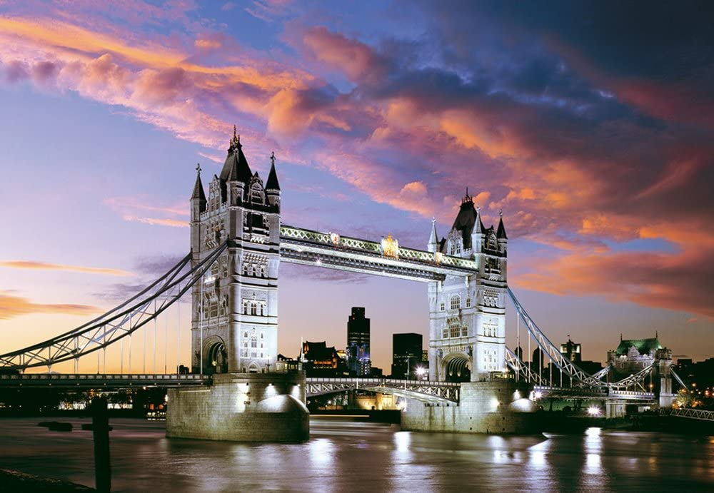 Tower Bridge, London - 1000 dielikov