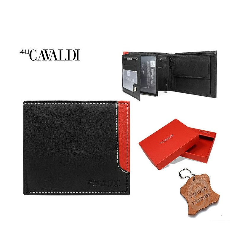 4U Cavaldi - N992-GDL BLACK/RED