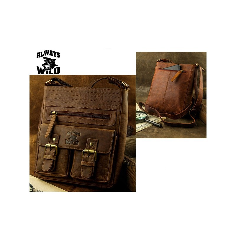 Always Wild - C48-0525 Crossbody BROWN