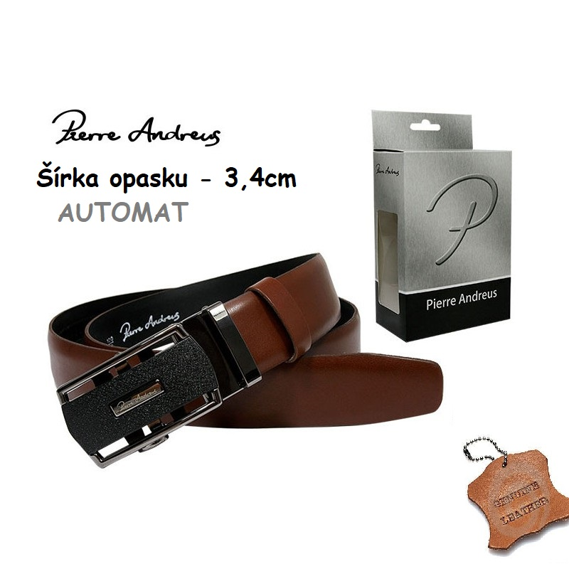 Opasok Pierre Andreus - HQ-25-PA Brown (110cm)