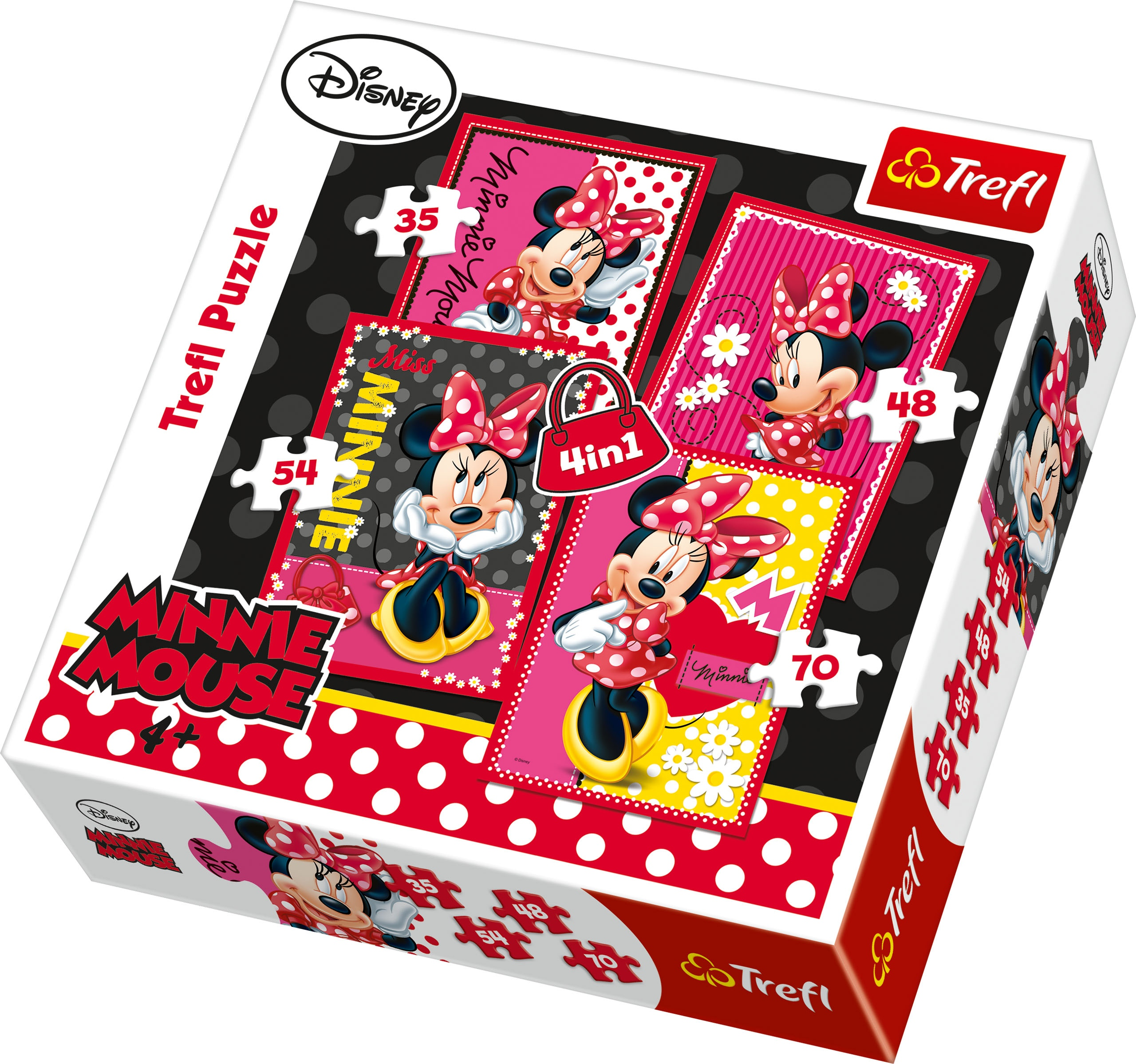MINNIE MOUSE - 4v1